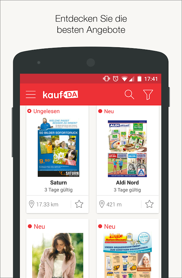 Android App Angebote
