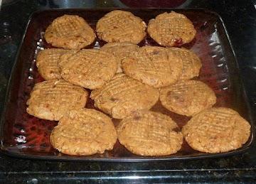 Raw Peanut Butter Cookies Recipe