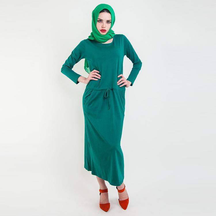 BASICS Casual Maxi Dress by Hijab Le Modesty