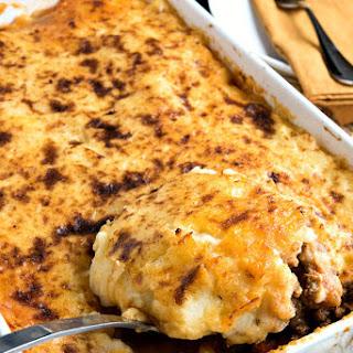 Lamb Shepherd's Pie.