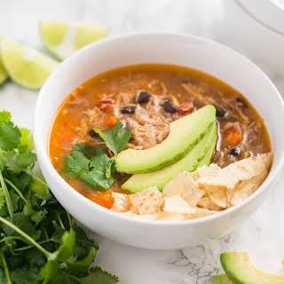 Slow Cooker Chicken Tortilla Soup.