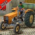 Real Farming Tractor 3D  Simulator 2021 icon