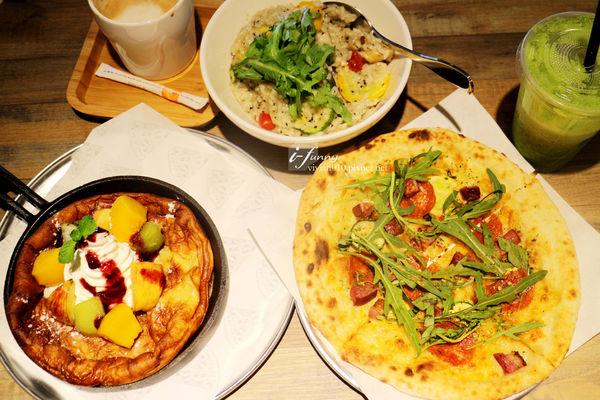 Pizza CreAfe' 客意比薩.咖啡/松山區披薩/義大利麵/燉飯/早午餐