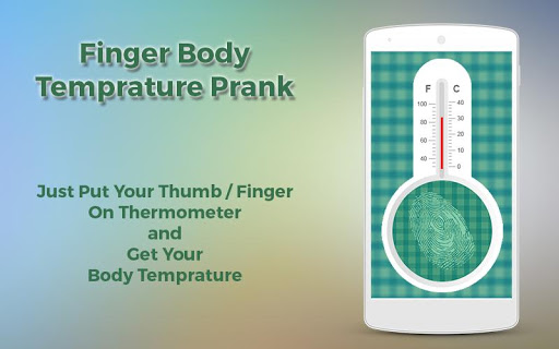 Finger Body Temprature Prank 1.0 screenshots 3