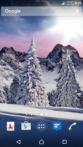 Christmas Snowfall Live Wallpaper hack tool