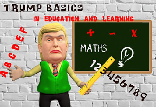 Learn with Trump: School Education and Learning