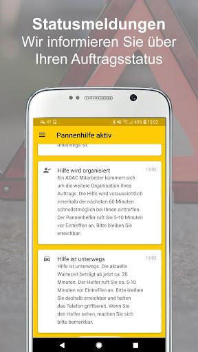 ADAC Pannenhilfe 2.4.3 screenshots 5