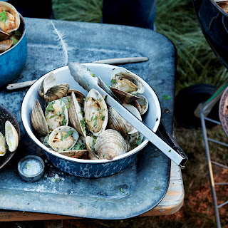 Grilled Clams with Spiced Paprika Butter