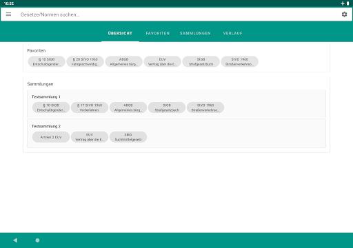 Lawdroid AT – Österreichische Gesetze und EU-Recht screenshot 9