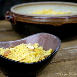 Sweet Yellow Saffron Rice.