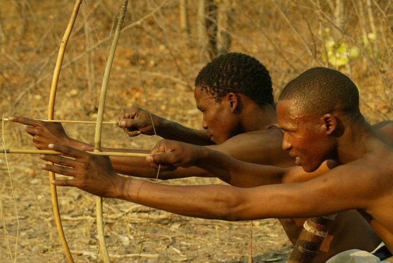 San hunting