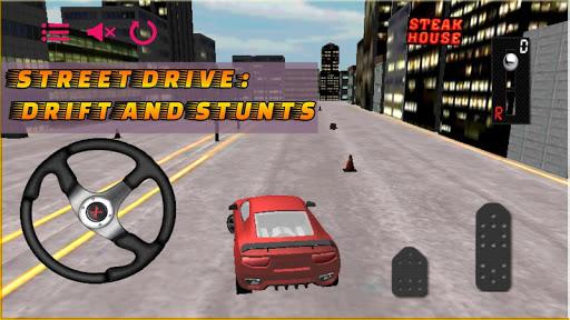 street drive: drift and stunts