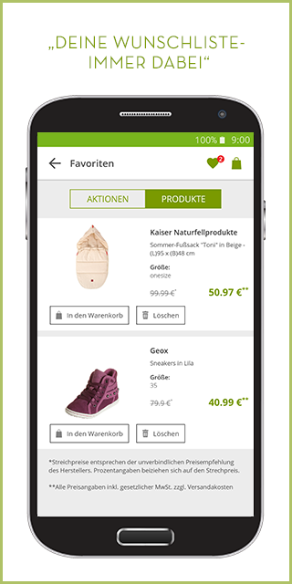 limango - Familien Shop- screenshot