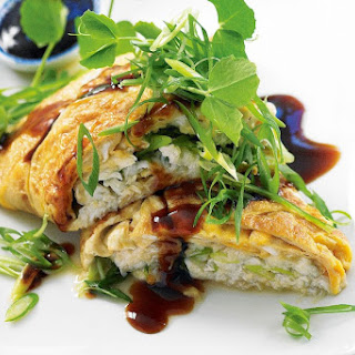 Asian Crab Omelette.