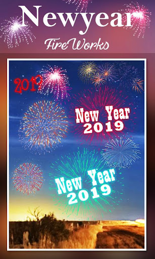 2019 New Year Fireworks Live Wallpaper 1.0.10 screenshots 17