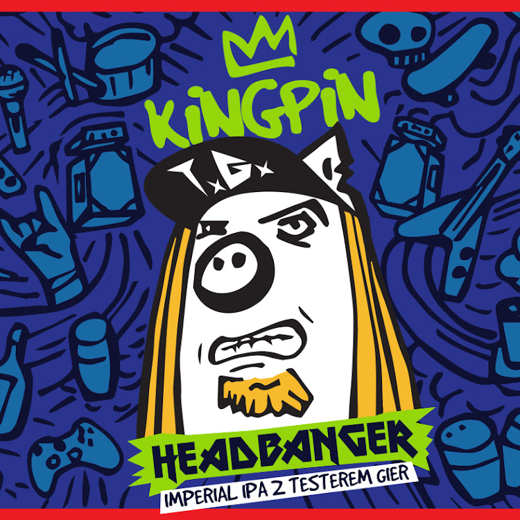 Logo of Kingpin Headbanger