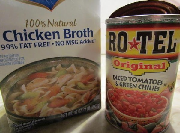 Put the clean raw beans in your crock-pot with the water, chicken broth and...