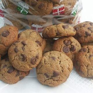 Hazelnut-Butter Cookies with Mini Chocolate Chips