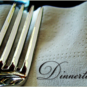 dinnertime by Lennie L. - Typography Words
