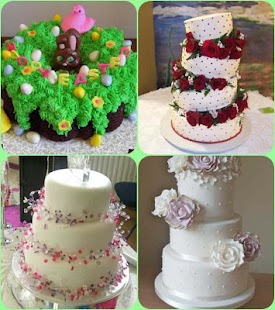 Cake Designs Ideas simple chocolate cake with berries and fresh flowers Cake Design Ideas Screenshot Thumbnail