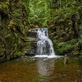 Rešov Falls by Jiří Valíček - Uncategorized All Uncategorized ( waterfalls, rešov, spring,  )