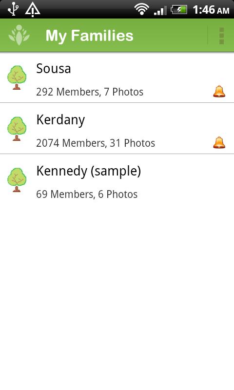 Family Tree Maker - FamilyGTG Screenshot 0