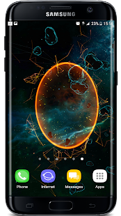 Space Particles 3D Live Wallpaper - náhled