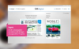 Screenshot of StN digital