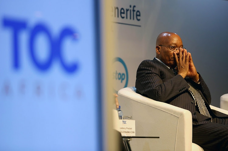President Jacob Zuma attends the Terminal Operators Conference Africa 2017 in Durban on December 5 2017. Picture: THULI DLAMINI