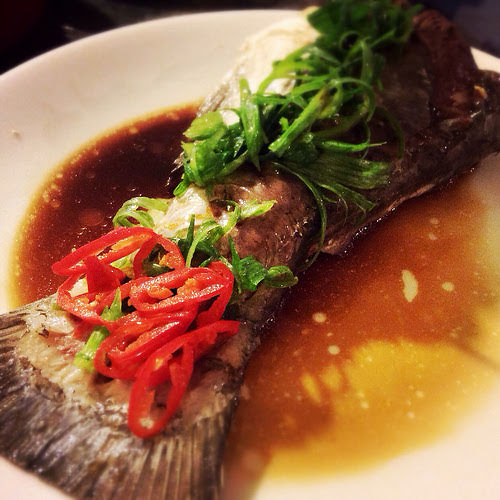 Fish, Tail, Rice, Soup,  魚尾, 泡飯, 湯, chinese, recipe, big head carp, carp, fish soup