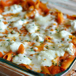 Baked Penne Pasta With Cheese Recipes.