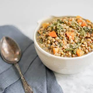 Simple 3 Lentil Soup | Vegan, Gluten-Free.