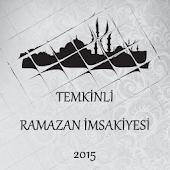 Temkinli Ramazan İmsakiyesi