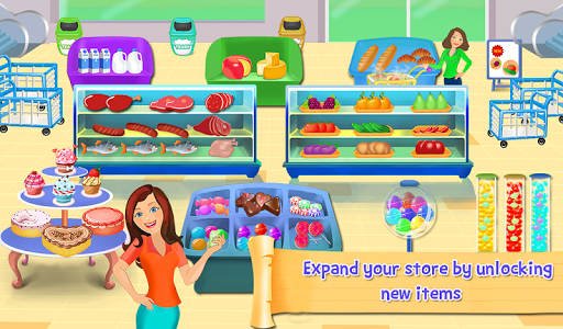 Supermarket Cash Register Sim: Manager & Cashier Screenshot
