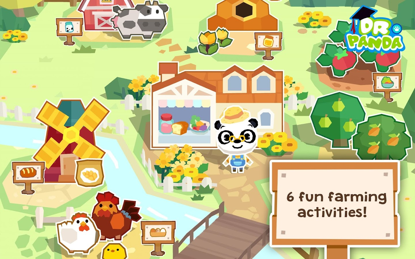 Dr. Panda Farm- screenshot