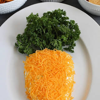 Easter Carrot Cheese Ball.