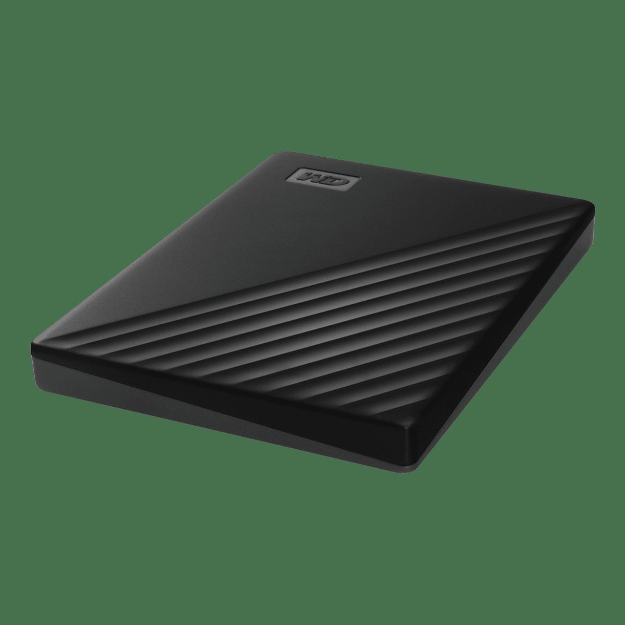 MyPassport 1-2 TB Black Overhead