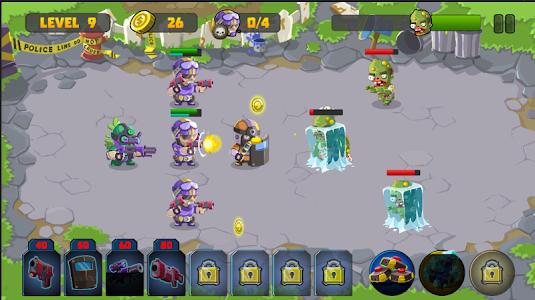 Special Squad vs Zombies v1.0.2 Mod Money + Stars