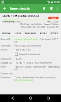 Screenshot of tTorrent Lite - Torrent Client