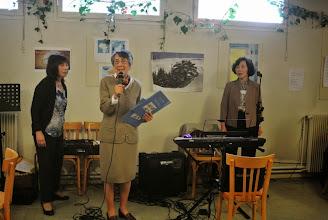 Photo: Hong Thu, MC, Sabine, Bach Bich