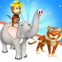 Animal Race - Transform Run Animals Switch icon