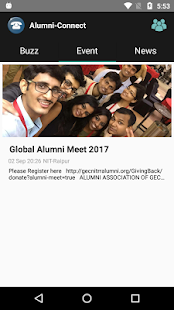 Alumni-Connect - náhled