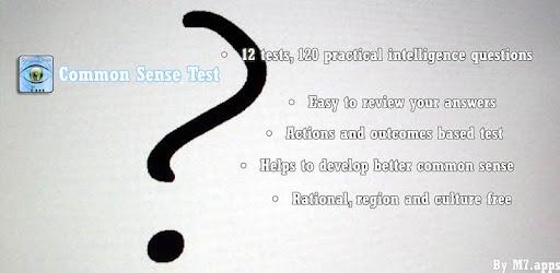 Common sense test free