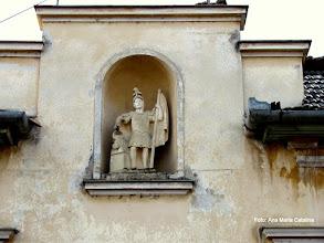 Photo: Statuia Sf.Florian (str.Eminescu nr.3)  http://ana-maria-catalina.blogspot.ro/2014/01/turda-statuia-sfantul-florian-str-mihai.html
