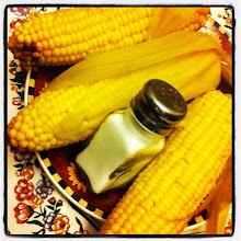 Photo: Fresh corn with a pinch of salt, anyone? #PhotoShake #corn #food #fresh #salt #summer #plant #intercer - via Instagram, http://instagr.am/p/Md9uEKpfiI/