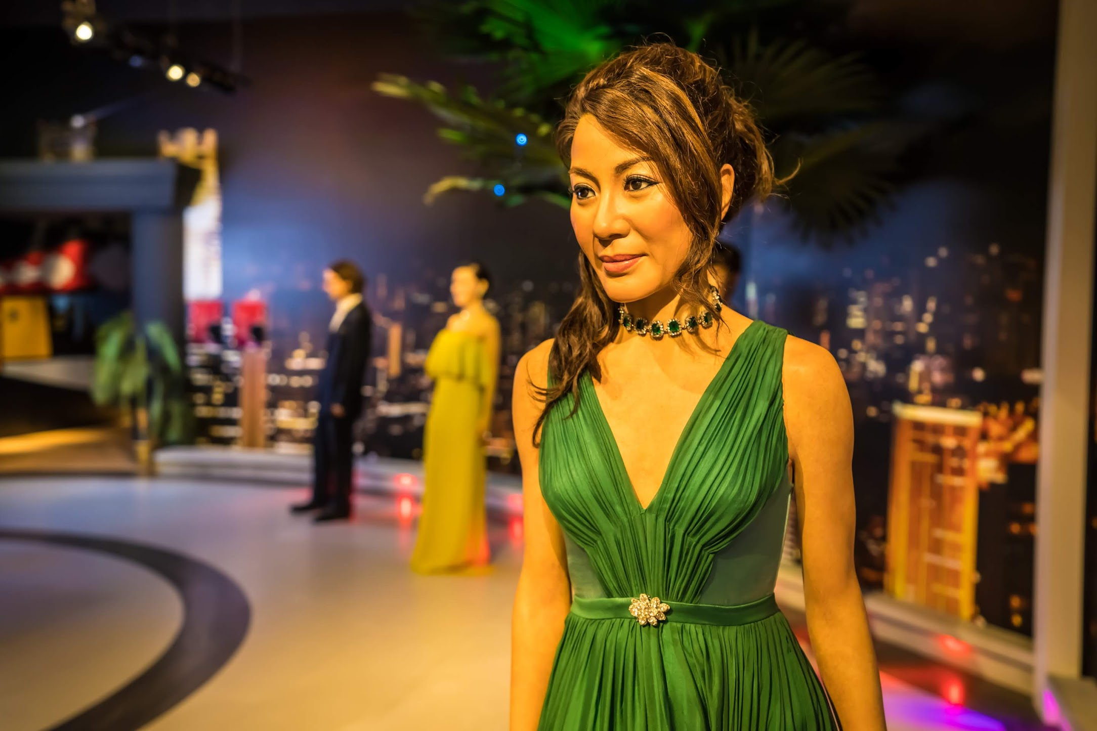 Singapore Sentosa Island Madame Tussauds Singapore Michelle Yeoh