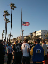 Photo: Boston memorial run, at Manhattan Beach Pier (the day I returned home)