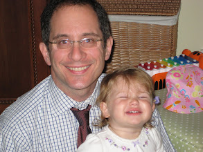 Photo: Mugging for the camera with Daddy, Feb. 29, 2008