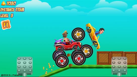 Motu Patlu Monster Car Game 5