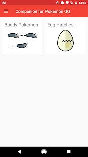 Companion for Pokémon GO Ekran Görüntüsü